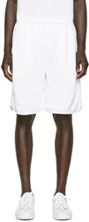 Marcelo Burlon White Vallegrande Shorts