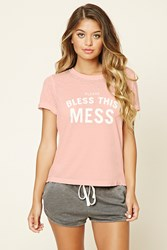 Forever 21 Bless This Mess Pj Tee