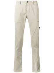 Stone Island Patch Pocket Trousers Nude Neutrals