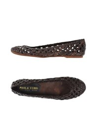 Paola Ferri Footwear Ballet Flats Women Dark Brown