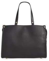 Inc International Concepts Remmey Satchel Created For Macy's Black