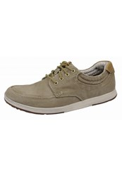 Clarks Trainers Olive