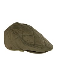 Barbour Quilted Foldaway Flatcap Olive