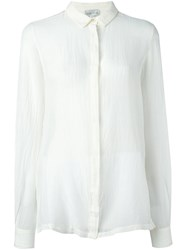 Forte Forte Concealed Fastening Shirt White