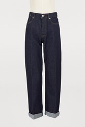 Dries Van Noten Straight Jeans Indigo