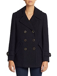 Joie Gabrilyn Boucle Coat Dark Navy