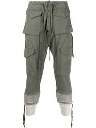 Greg Lauren Marmy Army Pocket Trousers 60