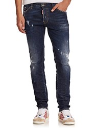 Viktor And Rolf Cool Guy Distressed Jeans Blue
