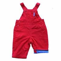 Toby Tiger Red Dungarees