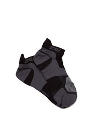 2Xu Race Vectr Ankle Socks Black Multi