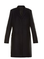 The Row Amudi Notch Lapel Coat Navy