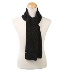 The North Face Cable Minna Scarf Tnf Black Prior Season Scarves