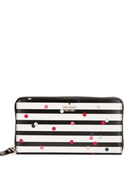 Kate Spade Stripe And Dot Wallet Multi Colored