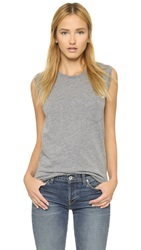 Baldwin Denim Boy Fit Tank Heather Grey