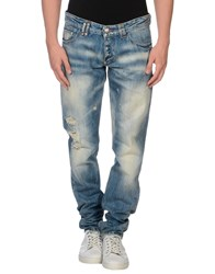 Philipp Plein Denim Denim Trousers Men Blue