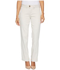 Jag Jeans Petite Petite Standard Trousers In Divine Twill Stone White