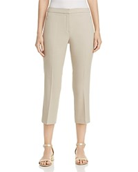 T Tahari Harper Cropped Pants White