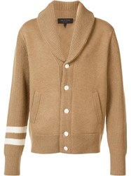 Rag And Bone 'Zachary' Shawl Cardigan Nude Neutrals