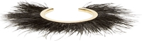 Isabel Marant Gold Feather Trimmed Bangle