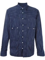 Dsquared2 'Workwear' Woven Shirt Blue