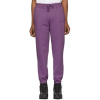 Aime Leon Dore Purple French Terry Lounge Pants