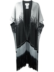 Antonia Zander Knitted Kaftan Black