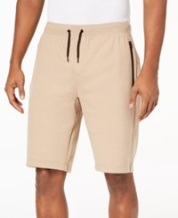 Ideology Id Men's Sweat Shorts Created For Macy's Hazelnut Cream