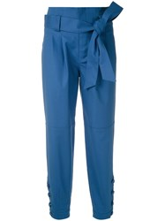 Martha Medeiros Pleated Tie Waist Trousers 60
