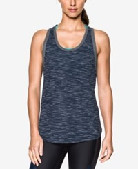 Under Armour Favorite Mesh Racerback Tank Top Midnight Navy