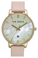Ted Baker London Leather Strap Watch 40Mm