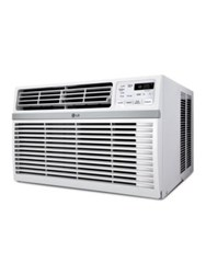 Lg Electronics 8000 Btu 115V Window Mounted Air Conditioner With Remote Control White