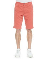 Ag Adriano Goldschmied Griffin Flat Front Shorts Orange Men's