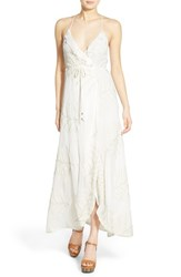 Women's Lovers Friends 'Nostalgia' Surplice Maxi Dress