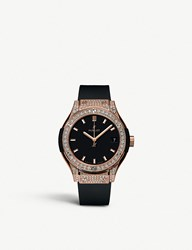 Hublot 581.Ox.1181.Rx.1704 Classic Fusion 18Kt Rose Gold And Diamond Watch