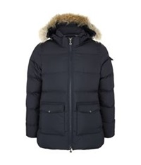 Pyrenex Authentic Smooth Puffer Jacket Navy