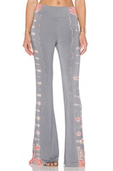 Gypsy 05 Bamboo Wide Leg Pant Gray
