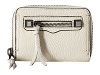 Rebecca Minkoff Mini Regan Zip Wallet Antique White Wallet Handbags
