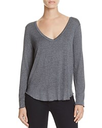 Chaser Draped Back Tee Anthracite