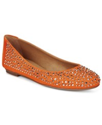 French Sole Fs Ny Quench Embellished Flats Women's Shoes