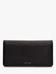 Matt And Nat Dwell Collection Vegan Flapover Purse Black