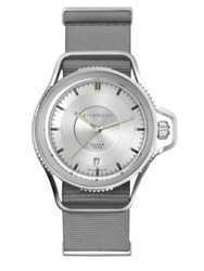 Givenchy Seventeen Stainless Steel Watch Silver Grey