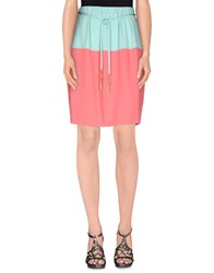 Elisabetta Franchi Skirts Knee Length Skirts Women Coral