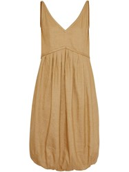 Burberry Bubble Hem Dress Honey