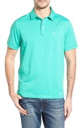 Tommy Bahama Men's Big And Tall Tropicool Spectator Polo Jade Isle