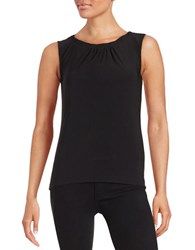 Tahari By Arthur S. Levine Knotted Shell Black