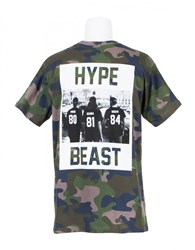 Les Artists T Shirt Hypebeast Camouflage