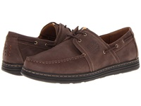 Dunham Chace Brown Men's Lace Up Moc Toe Shoes