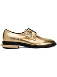 Coliac Fernanda Embellished Shoes Gold