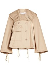 See By Chloe Cropped Cotton Trench Coat
