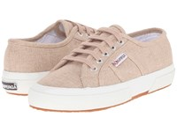 Superga 2750 Linu Burnt Sienna Lace Up Casual Shoes Orange